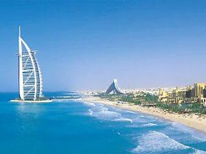 Dubai, praia