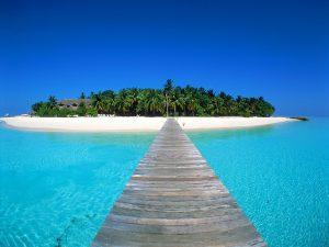 Maldivas, praia 5
